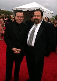 Jerry Mathers and Frank Bank at the 2005 TV Land Awards.