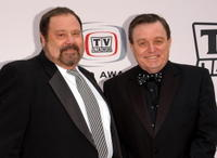 Frank Bank and Jerry Mathers at the 2005 TV Land Awards.