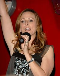 Marlee Matlin speaks at the season 5 premiere party for