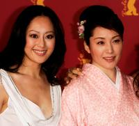 Teresa Cheung and Keiko Matsuzaka at the photocall of