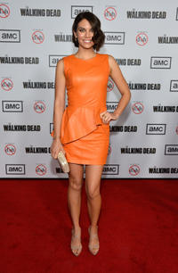 Lauren Cohan at the 3rd Season California premiere of