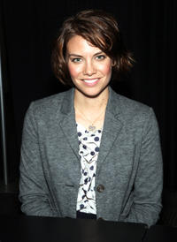 Lauren Cohan at the New York Comic Con of