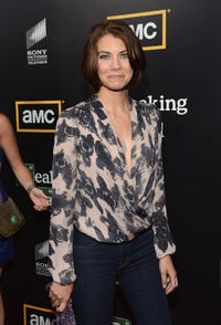 Lauren Cohan at the California premiere of