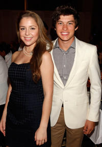 Makenzie Vega and Graham Phillips at the Jumpstart's Annual