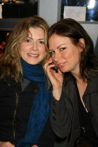 Gillian Vigman and Mary Lynn Rajskub at the Mercedes-Benz Fashion Week Fall 2007.
