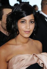 Leila Bekhti at the premiere of