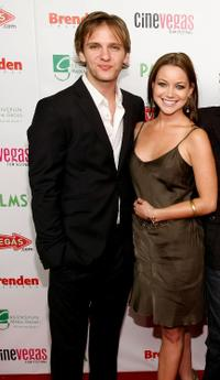 Cory Knauf and Jessie Ward at the red carpet of