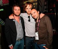 Joseph McKelheer, Cory Knauf and Robert Saitzyk at the 11th Annual CineVegas Film Festival.