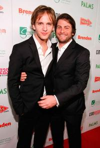 Cory Knauf and Joseph McKelheer at the red carpet of