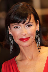 Mathilda May at the premiere of