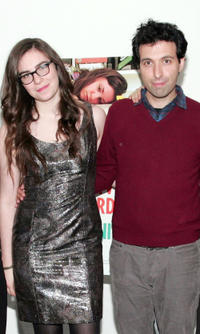 Grace Dunham and Alex Karpovsky at the New York premiere of