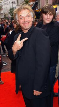 Rik Mayall at the UK premiere of