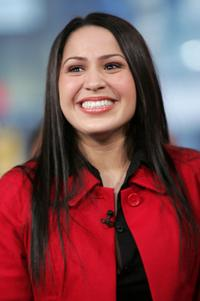 Jennifer Pena at the MTV's mi TRL.