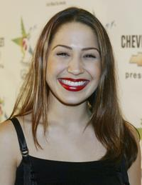 Jennifer Pena at the 2003 Latin Music Fan Awards.