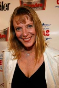 Rosalee Mayeux at the screening of