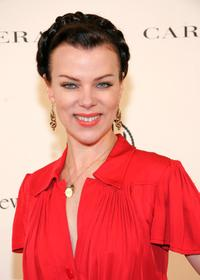 Debi Mazar at the Caroline Herrera Spring 2007 Fashion Show.