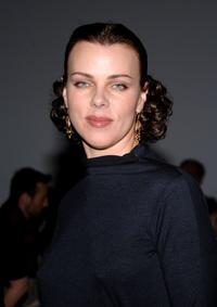 Debi Mazar at the Costello Tagliapietra Fall 2007 fashion show during Mercedes-Benz fashion.