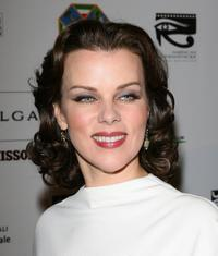 Debi Mazar at the Cinema Italian Style Opening Night Celebration.
