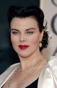 Debi Mazar at the 63rd Annual Golden Globe Awards.