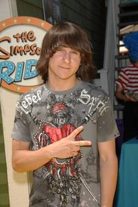 Mitchel Musso at the opening of