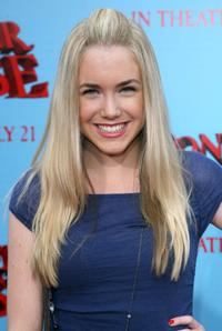 Spencer Locke at the premiere of