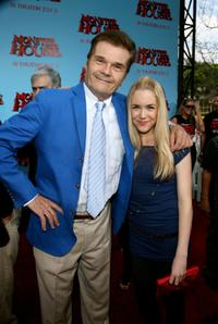 Fred Willard and Spencer Locke at the premiere of
