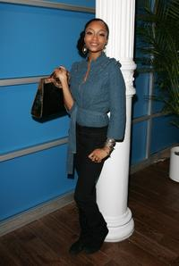 Yaya DaCosta at the opening night of Inspired by Film.
