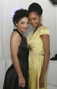 Jesika Nicole and Yaya DaCosta at the screening of