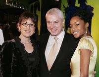 Producers Diane Nabatoff, Pierre Dulaine and Yaya DaCosta at the screening of