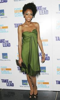 Yaya DaCosta at the world premiere of