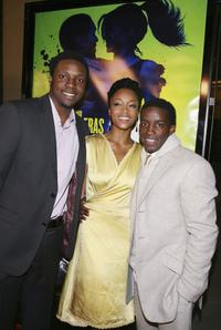 Rob Brown, Yaya DaCosta and Elijah Kelley at the screening of