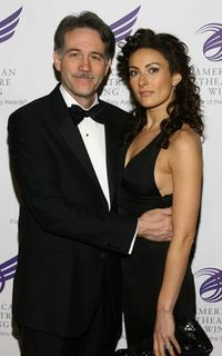 Boyd Gaines and Laura Benanti at the American Theatre Wing's annual Spring gala.