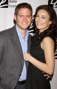 Steven Pasquale and Laura Benanti at the 74th Annual Drama League Awards Ceremony.