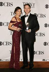 Laura Benanti and Boyd Gaines at the 62nd Annual Tony Awards.