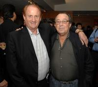 Producer Mike Medavoy and Paul Mazursky at the Academy of Motion Picture Arts and Sciences' salute to director Akira Kurosawa.