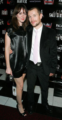 Corbett Tuck and Leigh Whannell at the Las Vegas premiere of