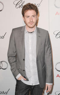 Joseph Mazzello at the Audi and Chopard Emmy Week Kick-Off party.