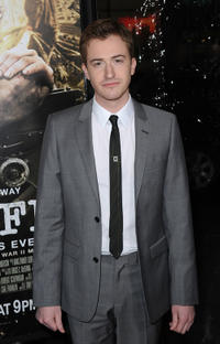 Joseph Mazzello at the California premiere of
