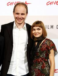 Dome Karukoski and Marjut Maristo at the photocall of