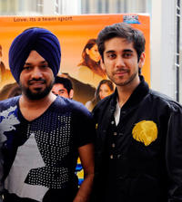 Gurpreet Ghuggi and Vinay Virmani at the photocall of