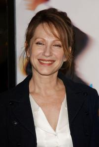 Nathalie Baye at the premiere of