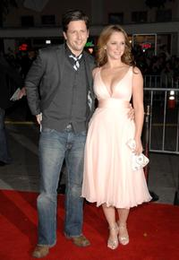 Ross McCall and Jennifer Love Hewitt at the premiere of