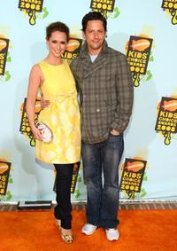 Jennifer Love Hewitt and Ross McCall at the Nickelodeon's 2008 Kids' Choice Awards.