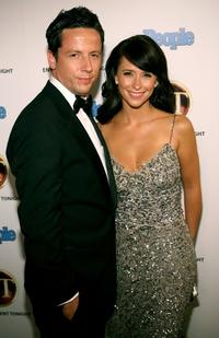 Ross McCall and Jennifer Love Hewitt at the 10th Annual Entertainment Tonight Emmy Party.