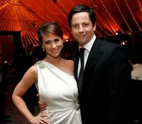 Jennifer Love Hewitt and Ross McCall at the