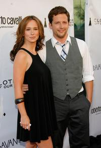 Jennifer Love Hewitt and Ross McCall at the Davante Rodeo Store opening.