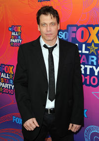 Holt McCallany at the FOX 2010 summer Television Critics Association all-star party in California.