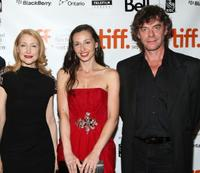 Patricia Clarkson, Ruba Nadda and Tom McCamus at the screening of