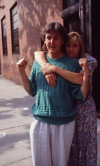 An Undated File Photo of Paul McCartney and Linda McCartney.