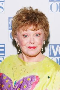 Rue McClanahan at the 50th Annual Village Voice Obie Awards.